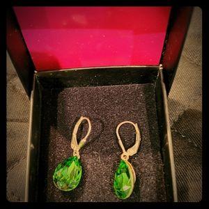 Swarovski Pear Shaped Tear Drop Earrings